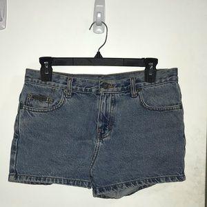 Calvin Klein Demin Shorts